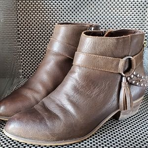 Chinese Laundry Brown Ankle Booties Size 8.5